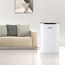 Air Ioniser Purifier HEPA Filter Anion Activate Carbon Filter Cleaner Sterilizer