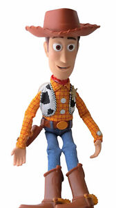 "WOODY Toy Story 16"" Talking Doll Disney Store Of London Pull-String WITH HAT"