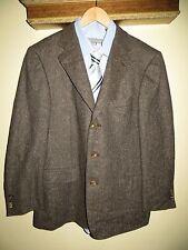 $3250 Ermenegildo Zegna 100% Cashmere Herringbone Suit Blazer Sport Coat 42  52