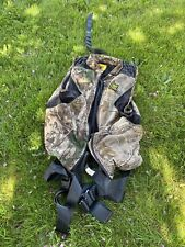 Hunter Safety System Tree Stand Harness With RealTree. Size L/Xl. 300lb Max