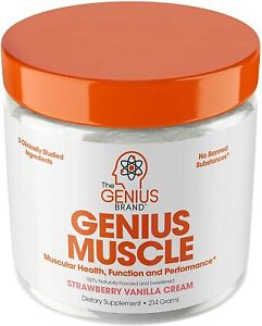 Genius Muscle Builder – Best Natural Anabolic Growth Optimizer for Men &...
