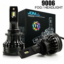 JDM ASTAR 2X 9006 HB4 LED Headlight Fog Light Bulbs Low Beam Kit 6500K White T1