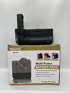 Meike MK-A7II Pro Vertical Battery Grip for Sony A7 II / A7R II - Fully working