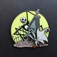 Nightmare Before Christmas - Doghouse Moon - Jack & Zero - Disney Pin 41489
