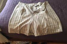 Venezia Beige Shorts. Size 20