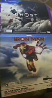Ghost Of Tsushima, Iron Man VR 2 In 1 Promo Display poster( Rare) 24x48