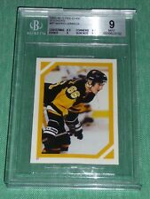 1985-86 OPC #97 Mario Lemieux Rookie Sticker BGS 9 MINT Graded Low POP4 only 5^