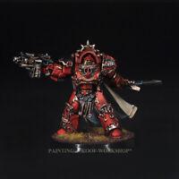 Warhammer 40K painted Blood Angels Legion Praetor in Tartaros Terminator Armour