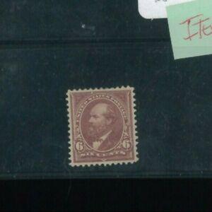 États-unis Envoi Tampon #271 Mint à Charnières VF Partiel Og Catalogue Valeur