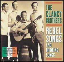 CLANCY BROTHERS (2 CD) REBEL & DRINKING SONGS ~ IRISH FOLK / BEER IRELAND *NEW*