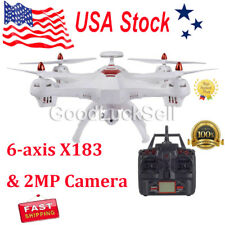 Global Drone 6-axes X183 With 2Mp WiFi Fpv Hd Camera Gps Brushed Quadcopter Wt