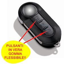 TASTI SCOCCA CHIAVE TELECOMANDO COMPATIBILE CON FIAT 500 PUNTO BRAVO PANDA DOBLO