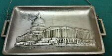 VINTAGE WASHINGTON TRAVEL SOVENIER -DESK MINI TRAY PAPER by ALMAR, PT MARION PA