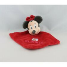 Doudou plat minnie rouge noël DISNEY - Souris - Rat Plat / Semi plat