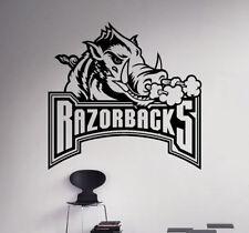 Arkansas Razorbacks NCAA College Football Wall Decal Vinyl Sticker Poster (5nc)