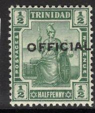 TRINIDAD SGO10 1910 ½d GREEN MNH