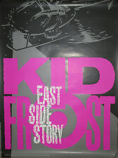 KID FROST East Side Story, Virgin promotional poster, 1992, 18x24, EX, hip-hop