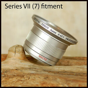 FREE UK POST 55mm Crystal Vision 0.42x Wide Macro Conversion Lens 4 Digital SLR