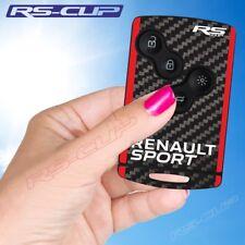 0008 Sticker clé RENAULT SPORT RED CARBON aufkleber decal Clio 4 Megane 3 Captur