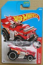 Hot Wheels 2017 39 of 365 Backdrafter Hotwheels HW Rescue - Long Card