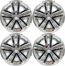 "(4) 2011 FORD EXPLORER 18"" CHROME WHEEL LINERS SKINS HUBCAPS 8385P-18"""