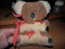 Vintage Musical Koala Bear Wind Up - Real Kangaroo Fur Australia PLAYS WALTZ