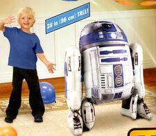 """38"""" Star Wars R2D2 Airwalker Foil Balloon Birthday Decoration Party Supplies"""