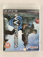 PS3 Inversion, UK Pal, Brand New & Factory Sealed, Flawed