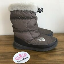 The North Face Boots Brown Goose Down Women's Size 5 With Flaws