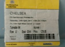Newcastle v Chelsea ticket 2004.Chelsea end
