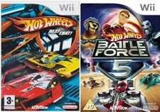 Hot Wheels Beat That & HOTWHEELS Battle Force 5 Pal Wii