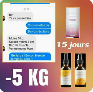 Gouttes DAY and NIGHT - Cure minceur ARIIX neuf