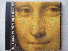 Music for Mona Lisa - Concordia - Mark Levy, Robin Blaze - CD