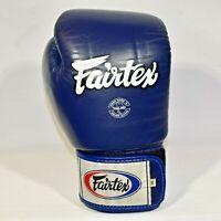 Fairtex Boxing 14 Blue Sparring MMA SINGLE ONE RIGHT GLOVE EUC