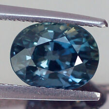 2.32CT CERTIFIED VVS UNHEATED OVAL BLUISH GREEN SAPPHIRE NATURAL