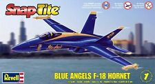 Revell Snap Tite 1:72 Blue Angels F-18 Hornet Plastic Model Kit 85-1185 851185