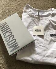 MOSCHINO Men's Genuine White Vest Top/Tshirt NWT