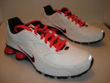 a531f46db921 Men s Nike Turbo 9 Shox Athletic Tennis Shoe White   Orange Size 13
