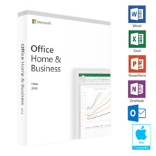 Microsoft Office 2019 Home and Business for Mac Activation Key by Email GENUINE