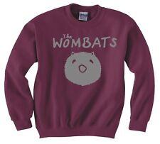 "THE WOMBATS ""WOMBAT"" SWEATSHIRT NEW"