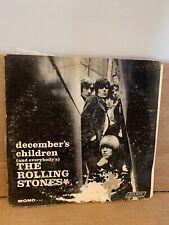 THE ROLLING STONES December's Children Vinyl LP LONDON LL 3451 MONO Vg/g