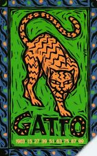 G 1270 C&C 3435 SCHEDA TELEFONICA USATA OROSCOPO CINESE GATTO