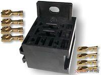 Relaissockelsatz, Relaissockel, Relaishalter, Relaissteckhalterung