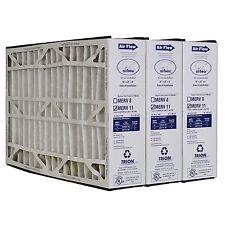 """Trion Air Bear 259112-105 (3 Pack) Pleated Furnace Air Filter 16""""x25""""x5"""" Merv 11"""