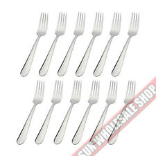 STANLEY ROGERS Albany 12 Piece Dinner Fork Set Quality Stainless Steel!