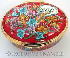 Halcyon Days Enamels Year Box 2011 New In Box Enamel Box