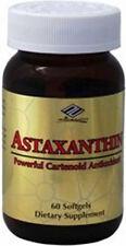 Astaxanthin Powerful Cartenoid Antioxidant 10 mg 60 Softgels 2 month supply