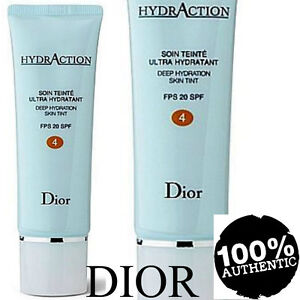 100% AUTHENTIC HUGE 50ml DIOR HYDRACTION DEEP HYDRATION SKIN TINT 4 BRONZE