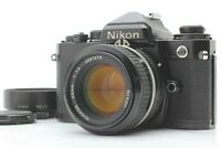 [Exc+5] Nikon FE Black SLR 35mm film camera + NIKKOR AI 50mm f/1.4 From JAPAN