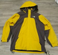 The North Face Summit Series Gore Tex Men 3 in1 Windbreaker Jacket Large Yellow